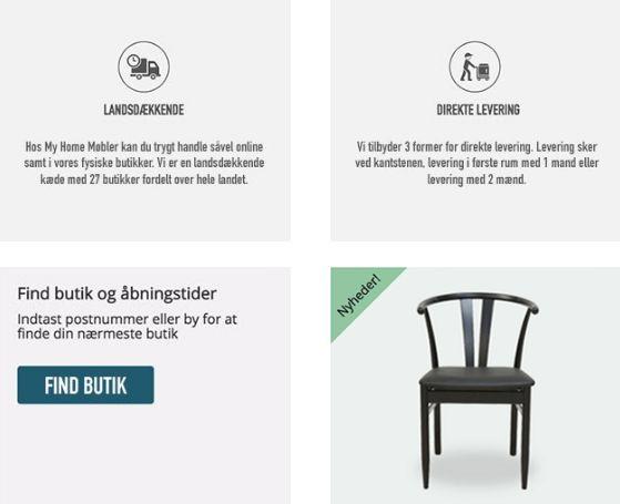 billige møbler fra My Home