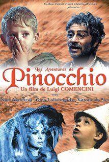 Pinocchio, mon film de ces années là