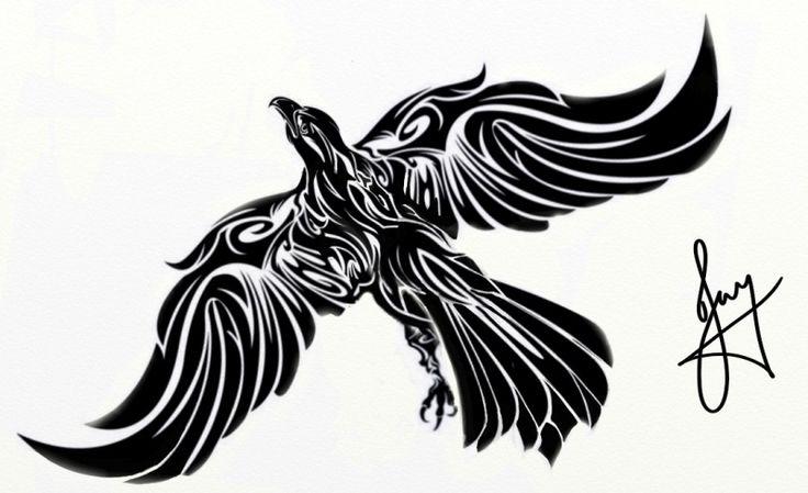Tribal Eagle Tattoo Tribal Eagle Tattoo Design Tattoowoo | Tattoo ...