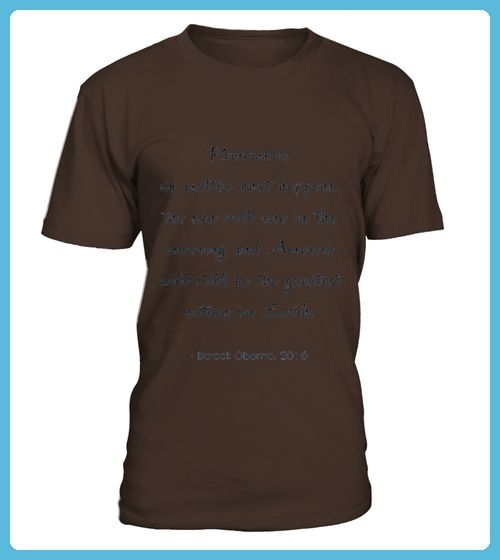 Barack Obama Election Quote 2016 Shirt Calligraphy (*Partner Link)
