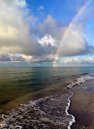 Rehoboth, DE rainbow