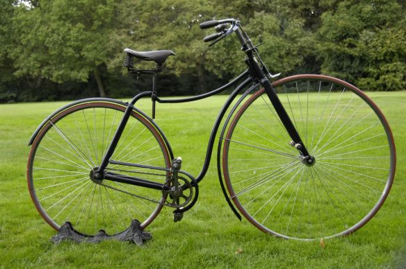 The Rover Safety Bicycle 1887.