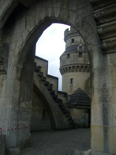castle view through arch                                                                                                                                                                                 More