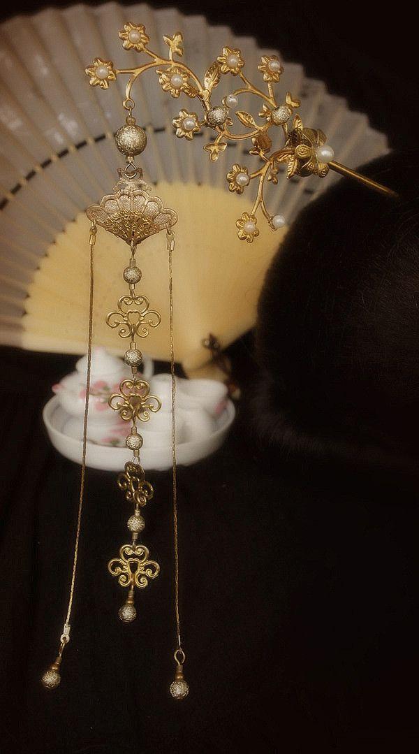 簪子 - Vintage inspired hair ornament used in ancient China.