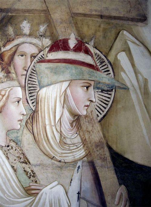 Agnolo Gaddi (1350 circa – 15 ottobre 1396) - Detail of St. Helena from the…