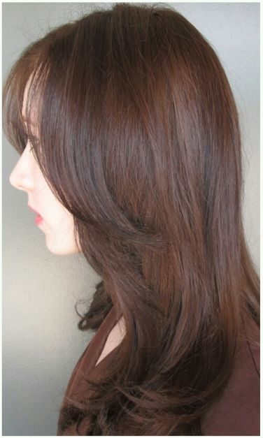 Hair color is an accessory – why not change it up? Colorist Amanda George transforms her clients color from blonde to brunette in this before and after. Stylist Tami Jensen polishes the look …