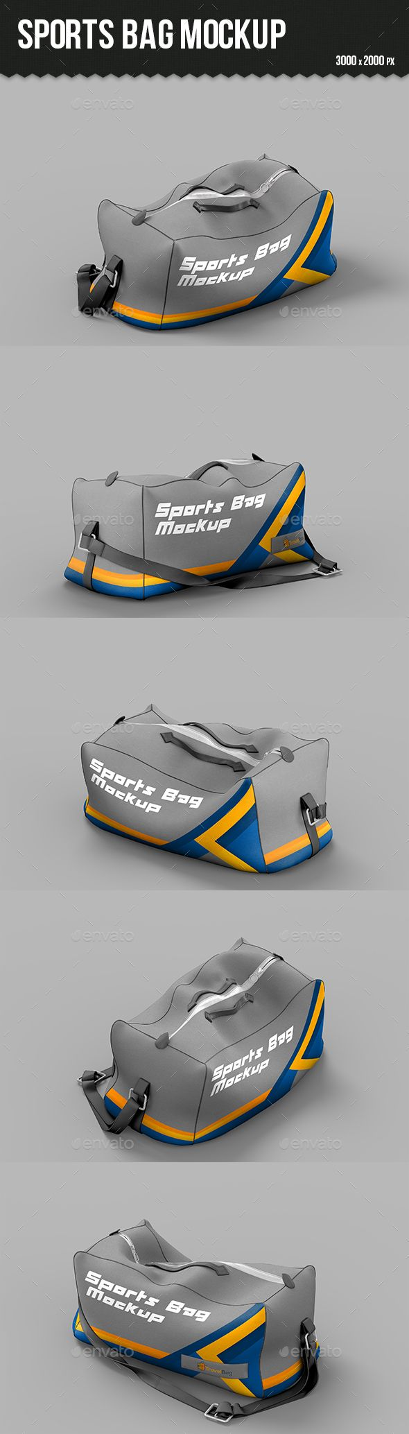 Download Sports Bag Mockup Bag Mockup Sport Bag Mockup