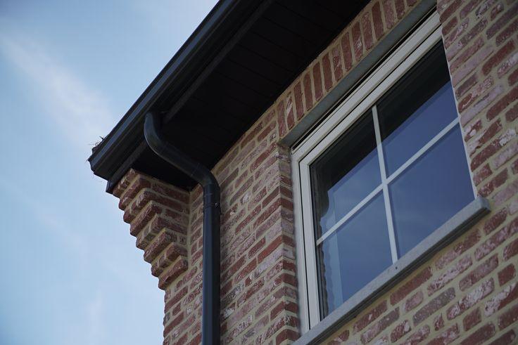 Moderne hedendaagse sleutel-op-de-deur nieuwbouw woningen Fotografie: www.kingsberry.be