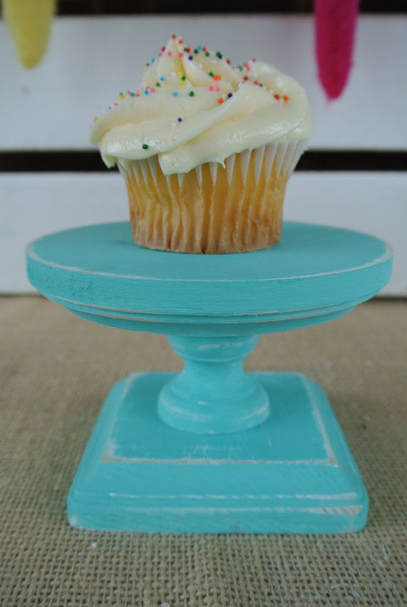 Hey, I found this really awesome Etsy listing at http://www.etsy.com/listing/158990212/individual-cupacake-plate-on-pedastal