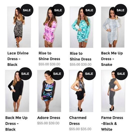 Off on all dresses for a limited time.So many bargains! first in best dressed.