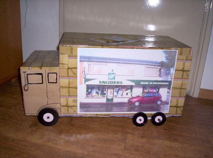 Een surprise maken voor iemand die alles met 4 wielen leuk vindt? Maak dan deze grappige DIY vrachtauto voor Sinterklaas.