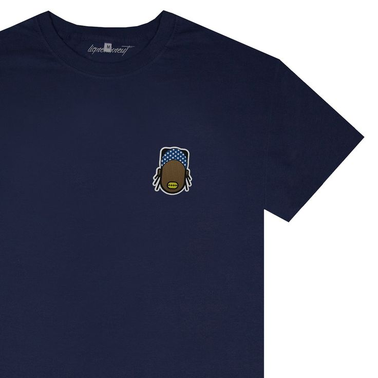 An icon on a T-shirt with A$AP Rocky by lignedixneuf Paris on lokalshirt.com