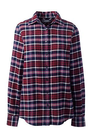 Women's Tall Flannel Shirt