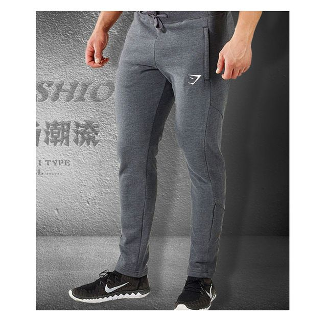 Good price  Mens Joggers Skinny Sweat Pants Embroidery Logo Tights Sweatpants For Men Side Zipper Sheer Trousers just only $15.20 - 16.99 with free shipping worldwide  #pantsformen Plese click on picture to see our special price for you