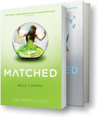 Matched trilogy- can't wait to start the second book!
