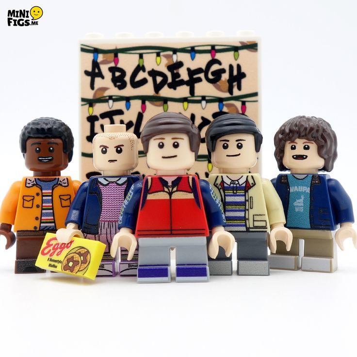 Stranger-things-full-set custom minifig LEGO stranger things