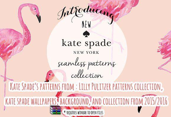 21 New Kate Spade Patterns  by GìGì Illustrations on @creativemarket