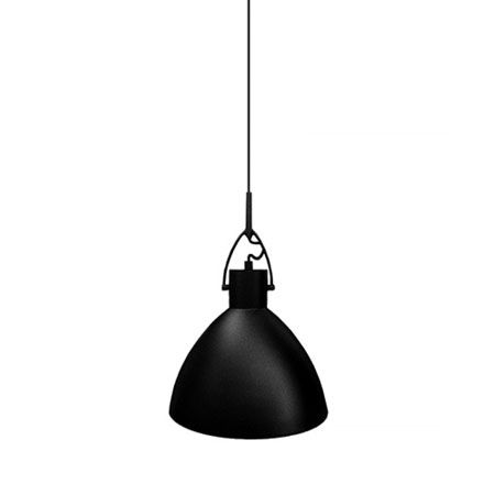 Black Pacific pendant light 300mm - $269