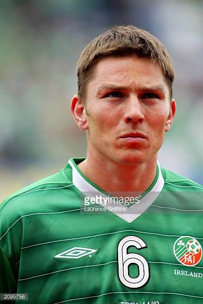 Portrait of Matt Holland of the Republic of Ireland taken before the UEFA European Championships 2004 Group 10 Qualifying match between Republic of...