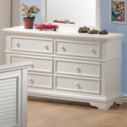 Best Amazon Com Storage Dresser With Shutter Design In White 400 x 300