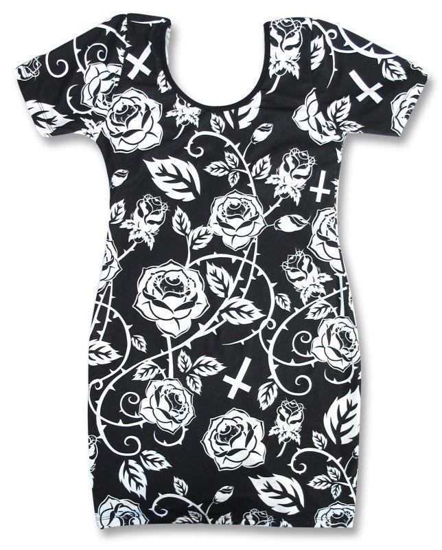 Liquor Brand Kleider Roses.Oldschool,Tattoo,Pin up,Rockabilly,Custom Styles