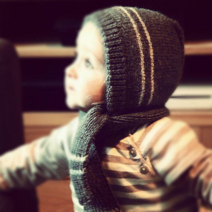 Tuto Tricot Bonnet Echarpe 18 mois bébé