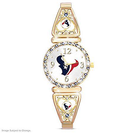 My NFL Houston Texans Women's Stretch Watch