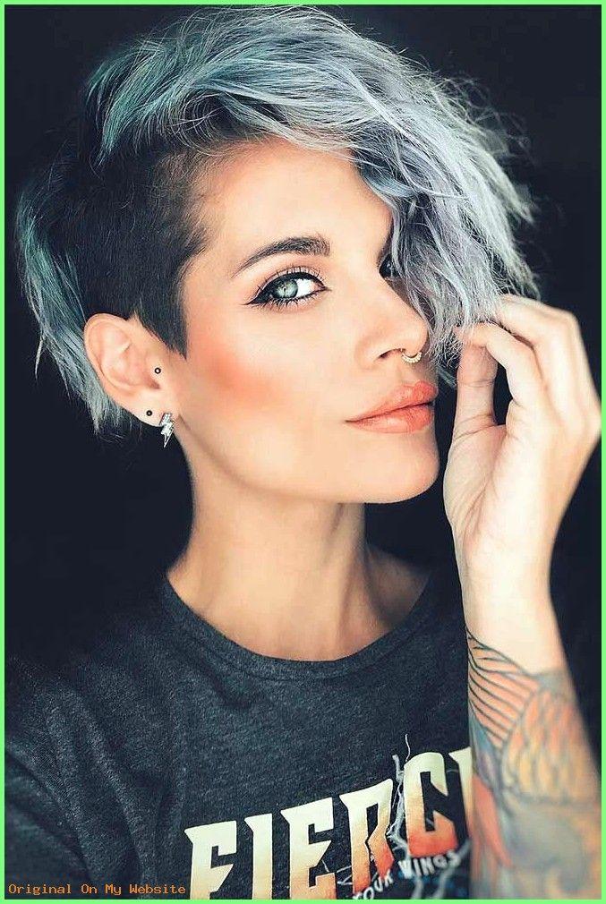 Frauen Frisuren Lange Haare - Undercut (mit Bildern