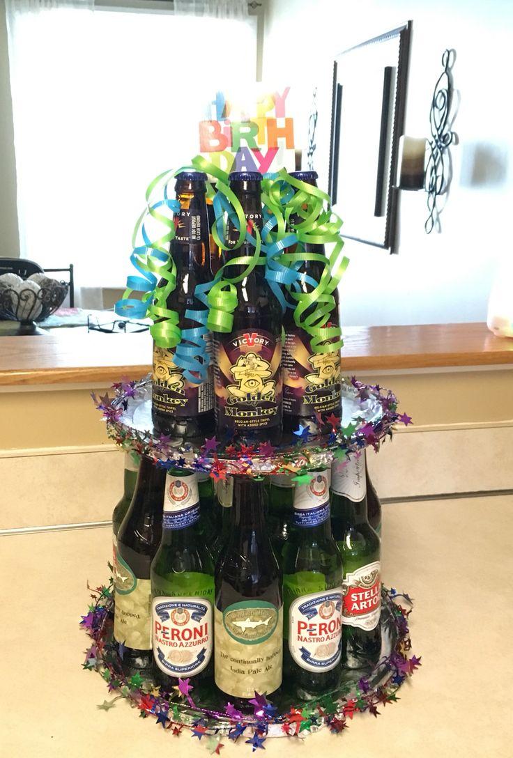 Beer Bottle Cake Hallmark Holidays Beer Bottle Cake