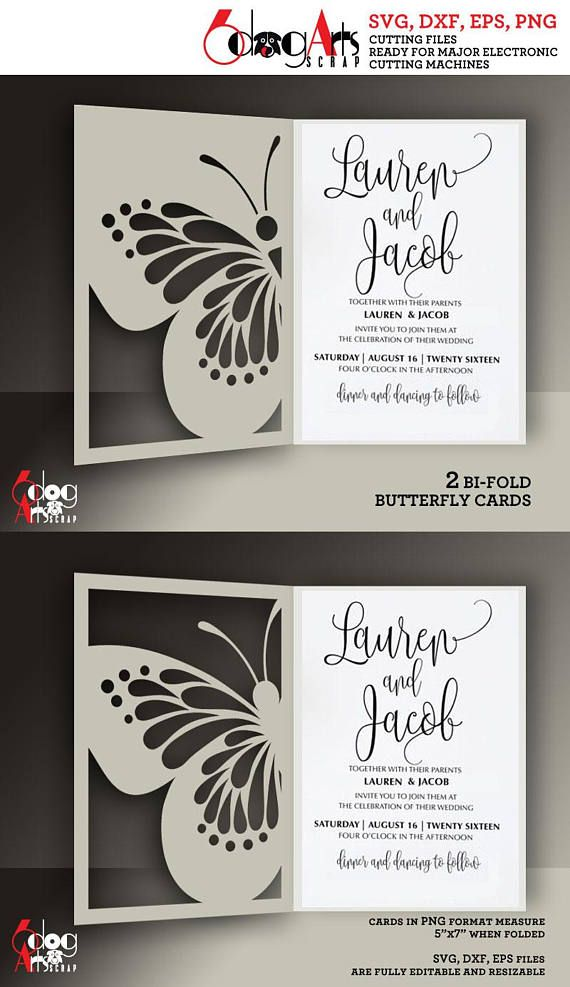 format of indian wedding invitation in english%0A   Butterfly Lace Card Templates Digital Cut SVG DXF Files Wedding Invitation  Stationery Laser Cuttable Download Silhouette Cricut JB