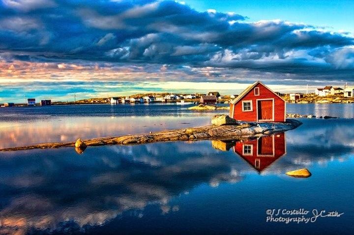 Tilting, Fogo Island, Newfoundland, Canada.
