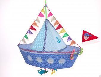Petit Pont Concept Store   AHOY Segelschiff Kinderlampenschirm v. Taj Wood & Scherer   online kaufen