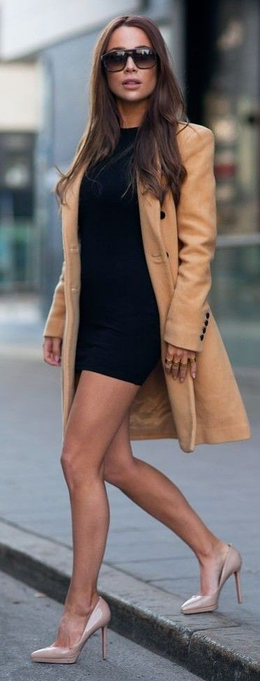 #streetstyle #fashion |Nude, Camel And Black Inspiration Outfit | Johanna Olsson