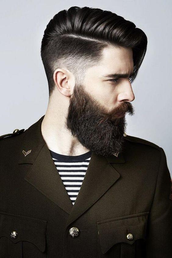 Classy Thick Beard