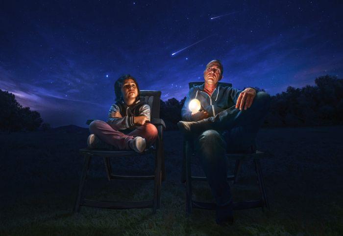 Наслаждение красотой ночного неба. Автор фотографии: Адриан Соммелин (Adrian Sommeling).