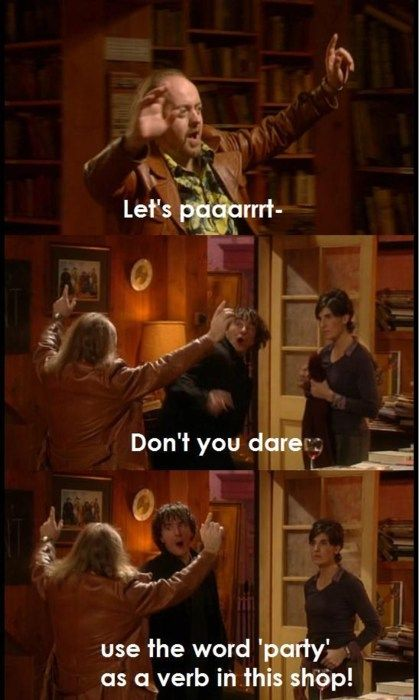 Black Books: Let's paaarrrty!