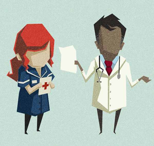 Healthcare Characters on Behance