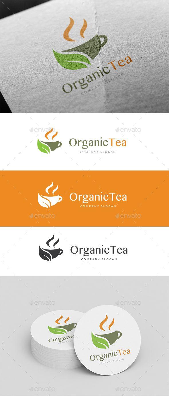 Coffee organic tea - Organic Tea Logo Design Template Vector Logotype Download It Here Http