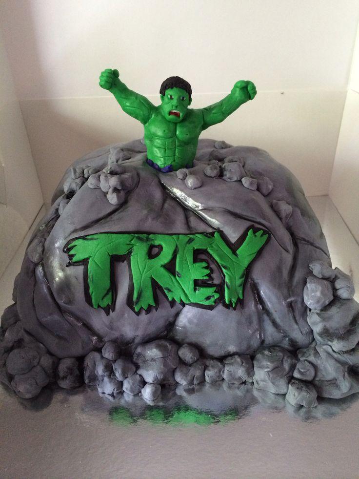 Homemade Incredible Hulk Cake Ideas And Designs