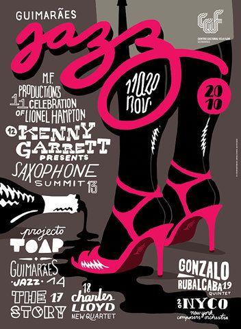 Jazz!: Graphic Design, Jazz Festival, Graphicdesign, Illustration, Typography, Jazz Posters, Poster Designs