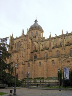 Salamanca Cathedral #Bovington, #Castile_Leon, #Salamanca, #Spain http://bobbovington.blogspot.com.es/2011/11/salamanca-cathedral.html