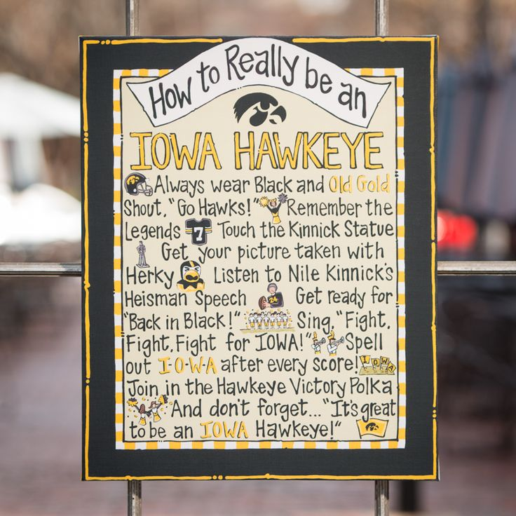 How To Really Be An Iowa Hawkeye