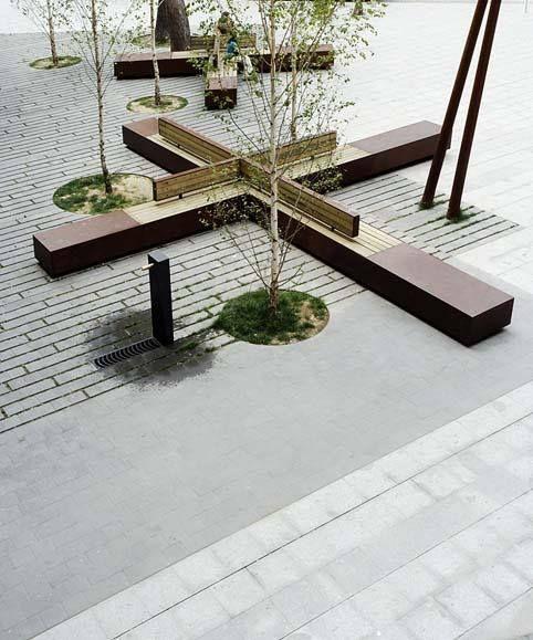 Modus Furniture Urban Seating Storage Bench Natural Linen: 1000+ Images About Urban Seating/Public Bench On Pinterest