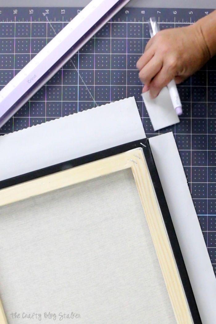 How To Frame Diamond Painting On Canvas : frame, diamond, painting, canvas, Frame, Diamond, Pictures, Crafty, Stalker, Paint,, Framed
