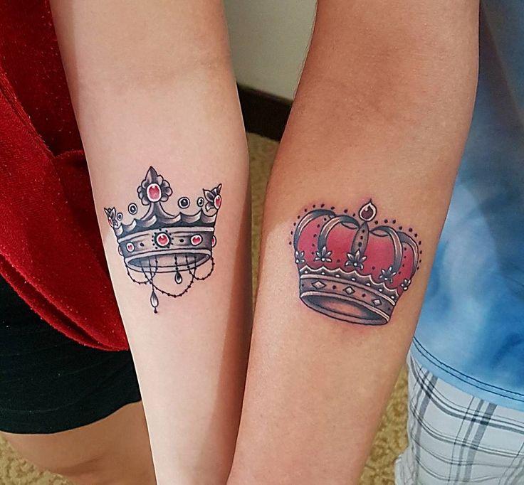 55 noble crown tattoo designs treat yourself like royalty tattoo ideas pinterest tatueringar. Black Bedroom Furniture Sets. Home Design Ideas