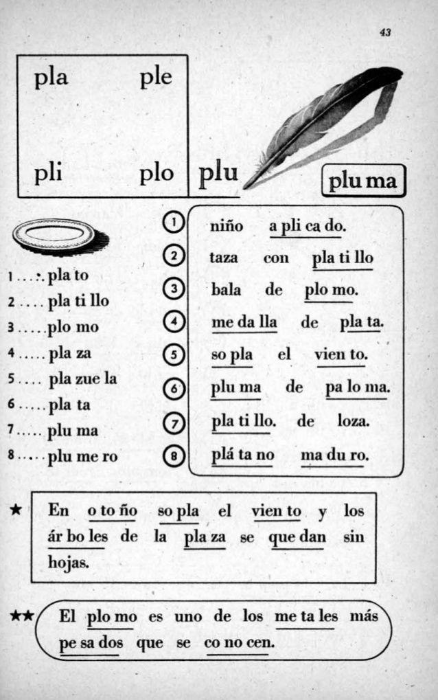 Resultado de imagen para silabario hispanoamericano caligrafia