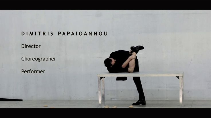 Dimitris Papaioannou / extracts from works (2001-2012)