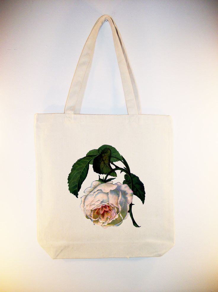 Gorgeous Drooping Victorian Rose Illustration on by Whimsybags
