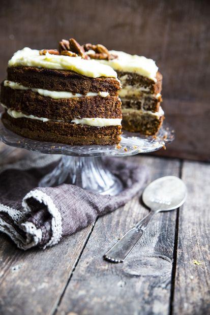 Jotain Maukasta Blogin kurpitsakakku ja Lusikkasepän kakkulapio