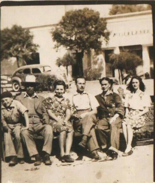1943 Frida Kahlo y Pedro Infante.